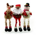 42.5cm Santa Christmas Figure Shelf Sitter