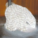 Large LED 3D Child Polar Bear, 704 Leds, 41cm (h)
