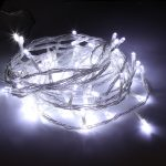 20M Indoor Fairy Lights, 200 White LEDs, Clear Cable