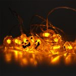 3m Halloween Pumpkin String Lights, 24V, 30 Orange LEDs