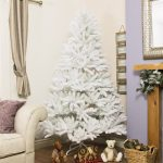 White Artificial PE Windsor Fir Christmas Tree