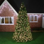 4m Giant Commercial Green Pre Lit Christmas Tree, 1956 Warm White LEDs