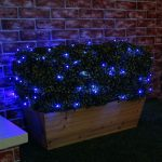 Solar Fairy Lights, 50 Blue LED, 5m