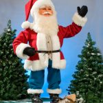 Animated Standing Santa Claus