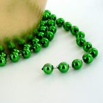 2.8M Green Beaded Chain