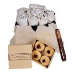 Mummy Daddy and Me Gift Set in Classic White