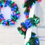 2m Multi-Colour Garland with Multi Action LEDs