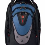 Wenger Swissgear Ibex 17″ Backpack – Black/Blue