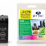 HP23 C1823DE Colour Remanufactured Ink Cartridge by JetTec – H23