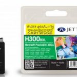HP300 XL CC641EE Black Remanufactured Ink Cartridge by JetTec – H300BXL
