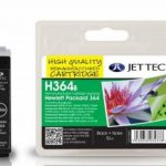 HP364 CB316EE Black Remanufactured Ink Cartridge by JetTec – H364B