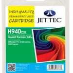 HP940XL C4907AE Cyan Remanufactured Ink Cartridge by JetTec – H940CXL