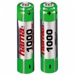 Hama AAA 1000 mAh Rechargeable Battery – TWO PACK