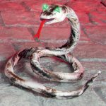 1.5M Battery Operated Halloween Light Up Snake