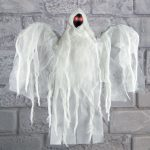 50cm Battery Faceless Hanging Ghost with Light up Eyes & Sound