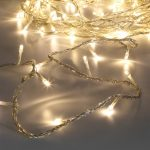 3.2M Indoor Fairy Lights, 40 LEDs, Clear Cable