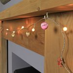 Battery Berry Fairy Lights with Sweets & Timer, 10 Warm White LEDs