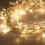 Indoor LED Fairy Lights, Clear Cable