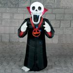 1.2m Outdoor Halloween Inflatable Vampire Skeleton Figure