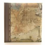 Kenro Holiday Old World Map Memo Album 200 7×5″ / 13x18cm Photo Album