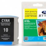 HP10 C4841A Cyan Remanufactured Ink Cartridge by JetTec – H10C