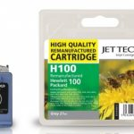 HP100 CS17913 Grey Remanufactured Ink Cartridge by JetTec – H100