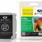 HP10 C4844AE Black Remanufactured Ink Cartridge by JetTec – H10BXL
