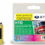 HP110 CB304AE Colour Remanufactured Ink Cartridge by JetTec – H110