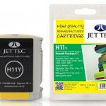 HP11 C4838AE Yellow Remanufactured Ink Cartridge by JetTec – H11Y
