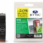 HP15 C6615D Black Remanufactured Ink Cartridge by JetTec – H15