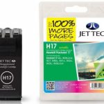 HP17 C6625AE Colour Remanufactured Ink Cartridge by JetTec – H17