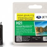 HP21 C9351AE Black Remanufactured Ink Cartridge by JetTec – H21