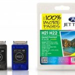 HP21/HP22 MULTIPACK Remanufactured Ink Cartridge by JetTec – H21 H22