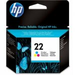 Genuine Tri-Colour HP22 Ink Cartridge – C9352AE