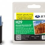 HP29 51629AE Black Remanufactured Ink Cartridge by JetTec – H29