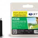 HP336 C9362EE Black Remanufactured Ink Cartridge by JetTec – H336