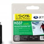 HP337 C9364EE Black Remanufactured Ink Cartridge by JetTec – H337