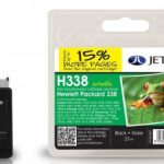 HP338 C8765EE Black Remanufactured Ink Cartridge by JetTec – H338