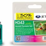 HP343 C8766EE Remanufactured Ink Cartridge by JetTec – H343