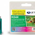 HP344 C9363EE Colour HC Remanufactured Ink Cartridge by JetTec – H344