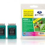 HP344 C9363EE Colour HC TWINPACK Remanufactured Ink Cartridge by JetTec – H344
