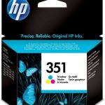 Genuine Tri-Colour HP351 Ink Cartridge – CB337EE