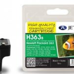 HP363 C8721E Black Remanufactured Ink Cartridge by JetTec – H363B