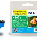 HP363 C8771E Cyan Remanufactured Ink Cartridge by JetTec – H363C