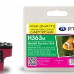 HP363 C8772E Magenta Remanufactured Ink Cartridge by JetTec – H363M