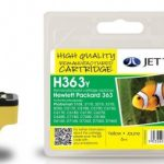 HP363 C8773E Yellow Remanufactured Ink Cartridge by JetTec – H363Y