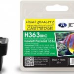 HP363XL C8719E High Capacity Black Remanufactured Ink Cartridge by JetTec – H363BHC
