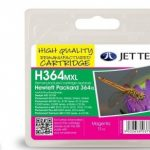 HP364XL CB324EE Magenta Remanufactured Ink Cartridge by JetTec – H364MXL