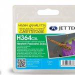HP364XL CB323EE Cyan Remanufactured Ink Cartridge by JetTec – H364CXL