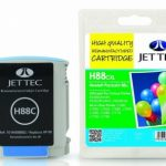 HP88 C9391A Cyan Remanufactured Ink Cartridge by JetTec – H88C